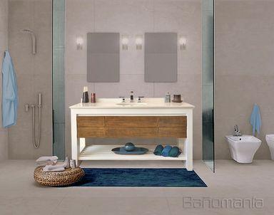 Bañomanía Vanitory N°16 Modelo New Bath con deck