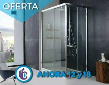 Bañomania Box de ducha rectangular